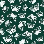 Butterflies pattern. — Stock Vector