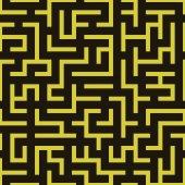 Maze labyrinth pattern. — Stock Vector