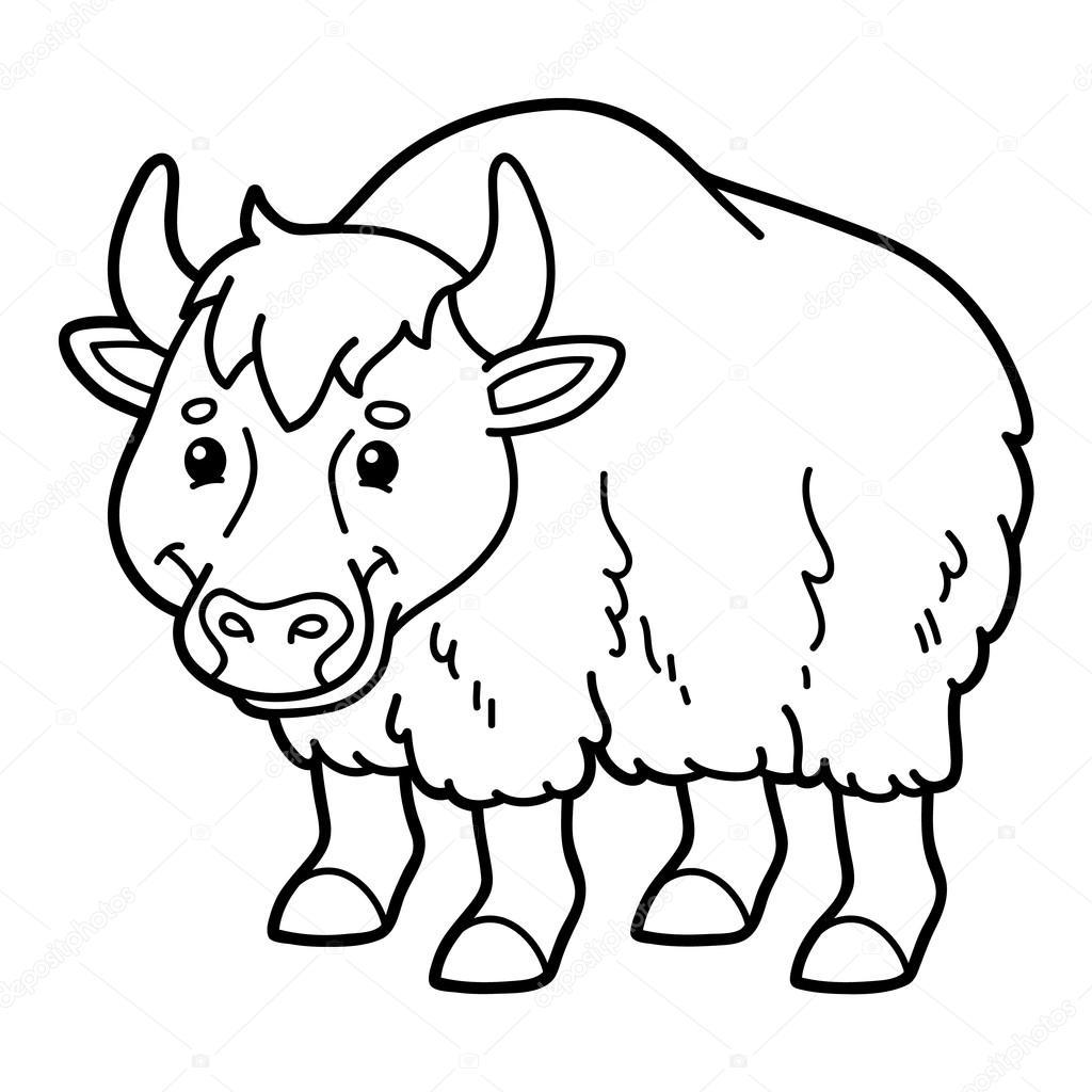 ŏ�爱的卡通牦牛 ś�库矢量图像 169 Boyusya 87403554