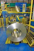 Rotolo di lamiera di acciaio — Foto Stock