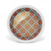Decorative plate with classic pattern — Stock Photo