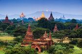 świątynie bagan na wschód, bagan, myanmar — Zdjęcie stockowe