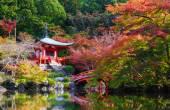 Daigoji Temple in Autumn, Kyoto, Japan — Stock Photo