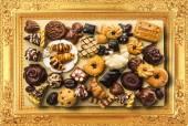 Obraz z słodycze — Zdjęcie stockowe