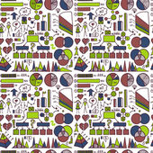 Infographic pattern — Stock Vector