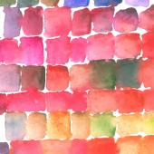 Watercolor stain glass background — Cтоковый вектор