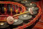 泰国的乐器,节奏 (选择投注公仪 — 图库照片