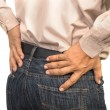 businessman having lower back pain,Office syndrome concept — Stock Photo #71341487