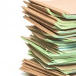 Pile of official papers — Stock Photo #76930013