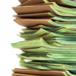 Pile of official papers — Stock Photo #76930113