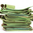 Pile of official papers — Stock Photo #76930257