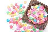 Sugar sprinkle , decoration for cake and bakery — Stock Photo