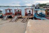 Fährhafen — Stockfoto