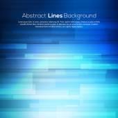 Abstrato de linhas azuis negócios de fundo vector. — Vetor de Stock