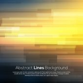 Abstract smooth background with lines and deep — Vector de stock