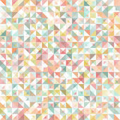 Seamless geometric, vintage pattern. With triangles. — Stock Vector