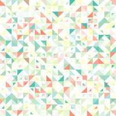 Sömlös geometriska, vintage mönster. Med trianglar. — Stockvektor