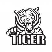 Tygr — Stock vektor