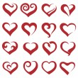 Hearts — Stock Vector #58011443