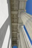 Pillars at Lincoln Memorial — Stock Photo