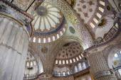 Interior of Blue Mosque in Istanbul Turkey — Stock Photo