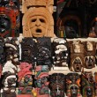 Mayan Wooden Masks for Sale — Stock Photo #53015497