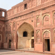 Agra Fort Tourist Destination in India — Stock Photo #53086243