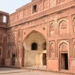 Agra Fort Tourist Destination in India — Stock Photo #53086243