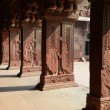 Pillars at Fort Agra in India — Stock Photo #53086495