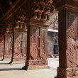 Pillars at Fort Agra in India — Stock Photo #53086499