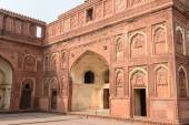 Agra fort touristique en inde — Photo
