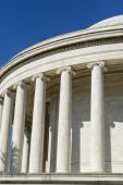 Jefferson Memorial in Washington DC — Fotografia Stock