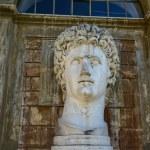 Ancient statue of Roman Emperor — Stock Photo #58670631