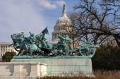 Civil War Memorial Washington DC — Stock Photo