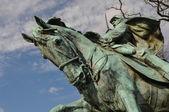 Civil War Memorial — Stock Photo