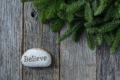 Believe in Christmas — Stock Photo