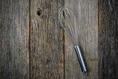 Metal Whisk — Stock Photo