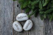 Hope, Dream, Believe — Stock Photo
