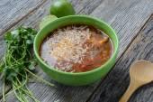 Tortilla soup — Stockfoto