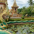 Dragon at Wat Chalong in Phuket — Stock Photo #60734819