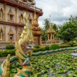 Dragon at Wat Chalong in Phuket — Stock Photo #60734821