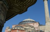 Hagia sophia em istambul turquia — Fotografia Stock