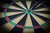 Dartboard Close Up — Stock Photo