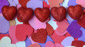 Hearts Background for Valentine's Day — Stock Photo