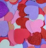 Fondo de corazones para San Valentín — Foto de Stock