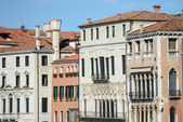 Buildings along the Grand Canal in Venice Italy — Stock Photo