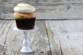 Mocha Flavored Cupcake — Stock Photo