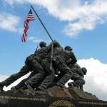 Iwo Jima Washington DC — Stock Photo #61747125