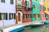 Burano italië — Stockfoto