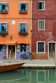 Burano Italy — Stock Photo